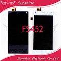 Probado Pantalla LCD de Pantalla Para Fly FS452 Pantalla LCD Con Touch Panel Digitalizador Asamblea