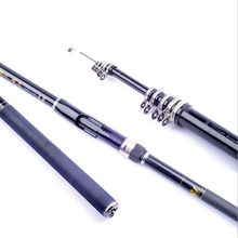 On sale Superhard Carbon 3.6M 4.5M 5.4M 6.3M 7.2M Casting Rod Rock  Spinning Fishing telescopic fishing rods fishing pole Throw  rod
