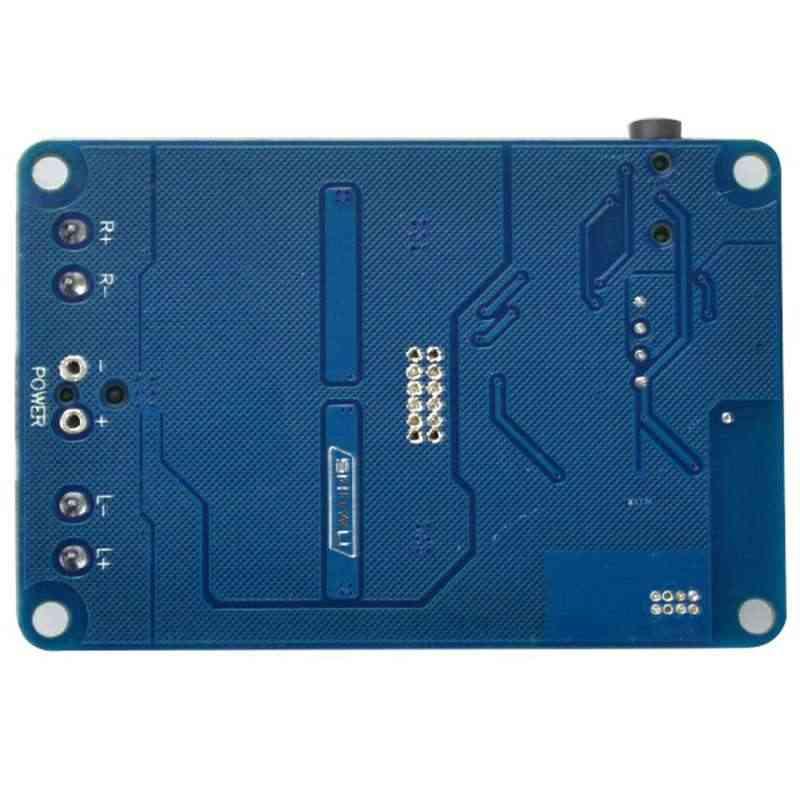 AABB-Tda7492P Bluetooth レシーバーアンプオーディオボード 25 ワット × 25 ワットスピーカー修正された音楽ミニアンプ Diy デュアルチャンネル