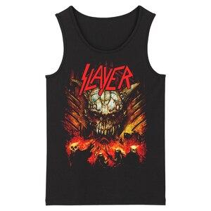 Image 4 - Bloodhoof Slayer Death Metal Heavy Metal HardMetal Deathcore  Mens Top Tank Tops Asian Size