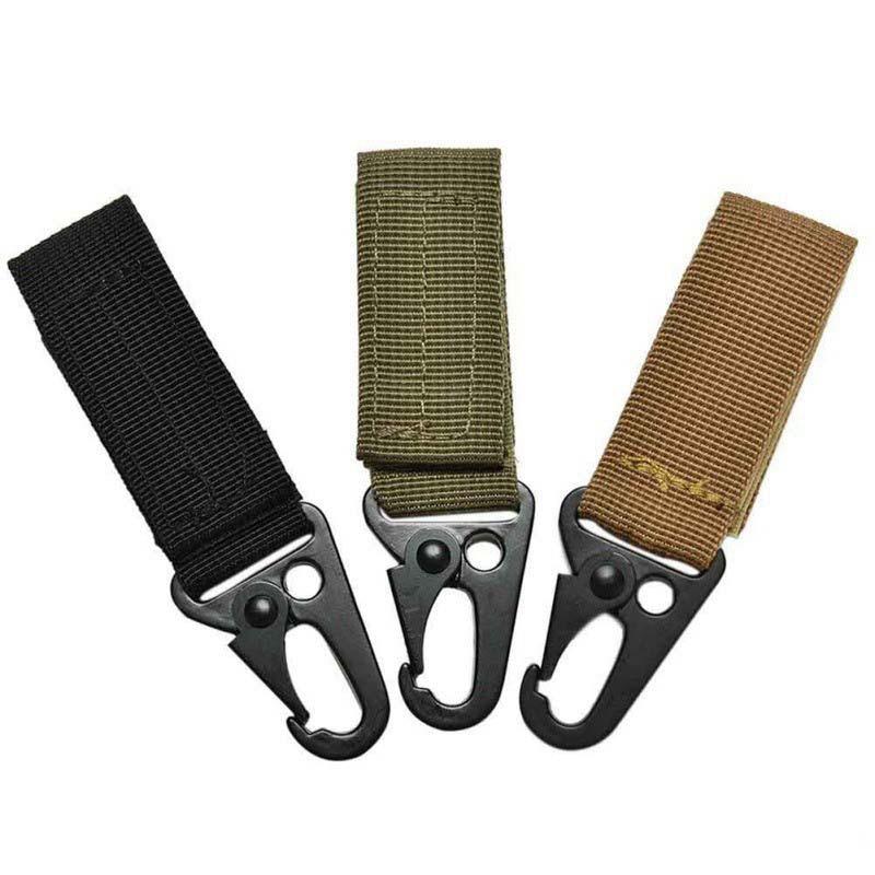 Military Nylon Key Hook Outdoor Tactics Multi Functional Climbing Buckle Olecranon Hook