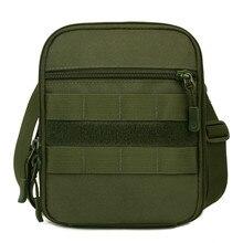 Купить с кэшбэком HUANILAI Brand Outdoor Bags Men Messenger Bag Women Shoulder Bag Tool Sorting Travel Bags Belt Waist Pack Phone Handbags SH02