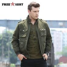 FREEARMY Brand Quality Jacket Men Military Jacket Windproof Army Flighting Wind Stopper Wind Bomber Jacket Men Ms-6280A