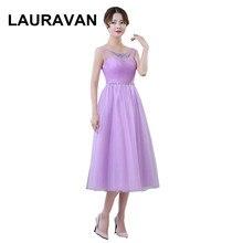 31a38d38b Señora girl tamaño 8 formal elegante simple corto lavanda luz púrpura  vestidos sexy dama de honor vestidos s envío libre del ves.