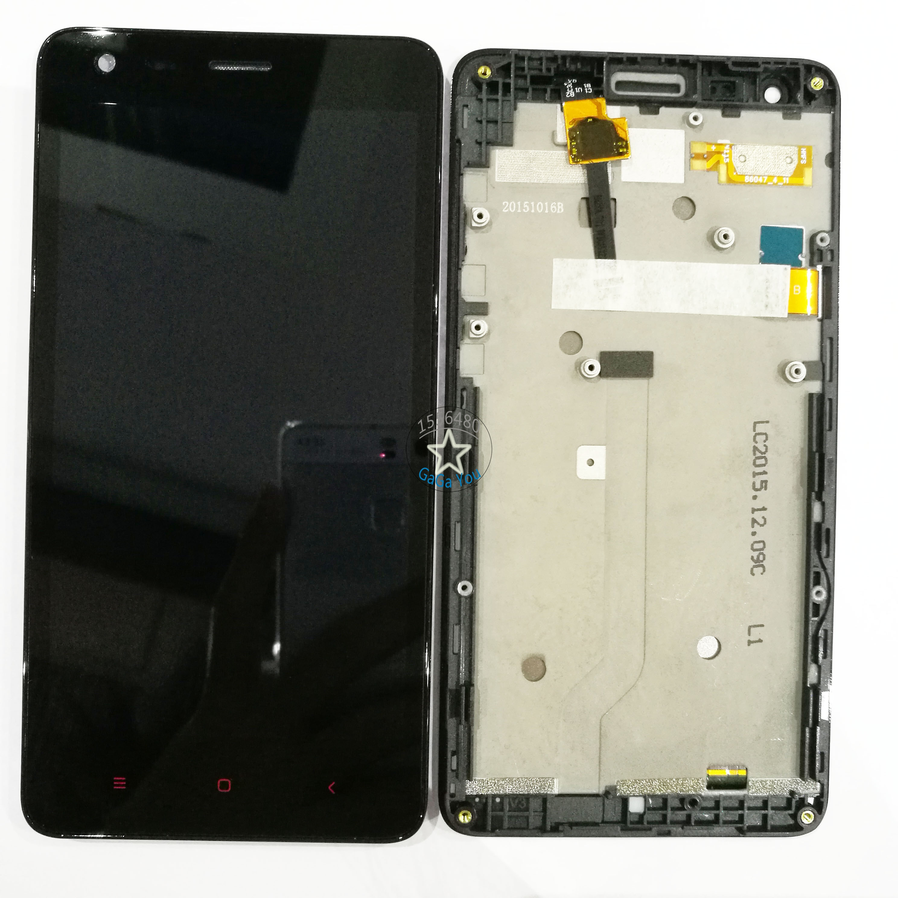 Original LCD Display +Touch Screen Panel Digitizer +Bezel Frame Assembly For Xiaomi Redmi 2 Replacement Parts