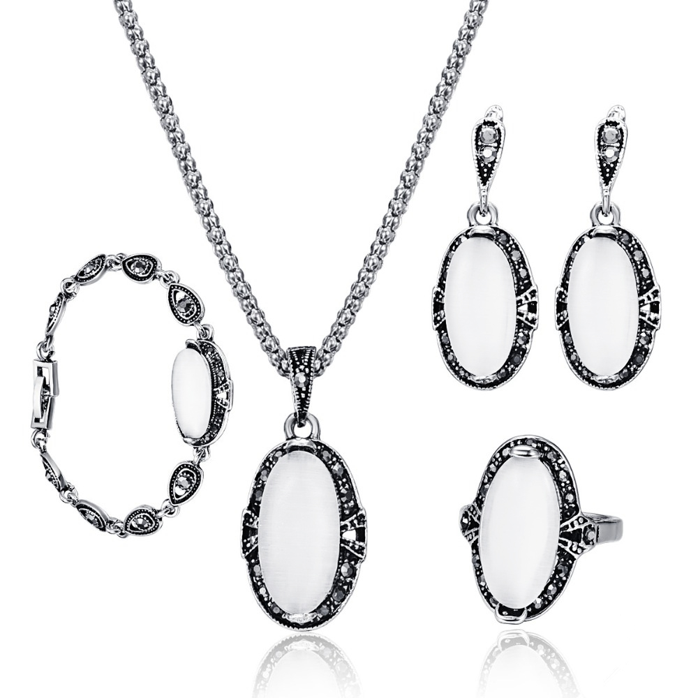 Exquisite Opal Jewelry Sets...