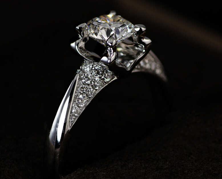 Размер 4-10, новинка 2016 года, лидер продаж, брендовые ювелирные изделия принцессы из стерлингового серебра 925 пробы, 1 карат, белые AAA CZ искусственные камни, обручальное кольцо, подарок