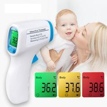 Baby Digital Body Temperature Measurement Forehead Infrared LCD IR Thermometer Non-Contact Adult Body Fever IR kids Termometro