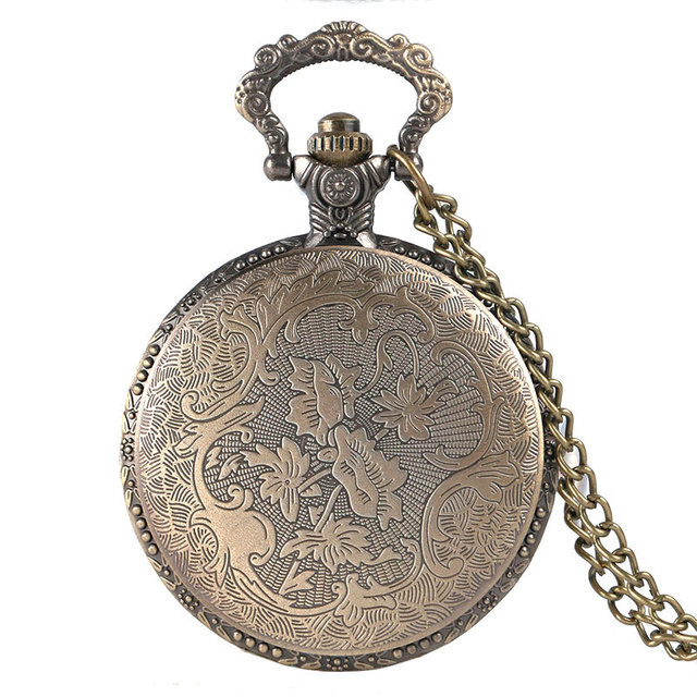 YISUYA Bronze Pocket Watch Game of Thrones House Strak Winter is Coming Men Women Steampunk Necklace Pendant Gift