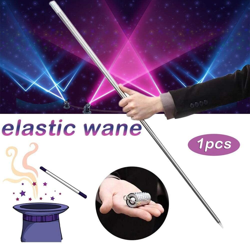 110/150 cm fou canne magique baguette apparaissant en métal argent magique gros plan Illusion soie à baguette bâton livraison gratuite