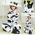 Adultos franela Pijama Homewear mujer Pijama Animal adapte Cosplay ropa lindos de la historieta divertida animales conjuntos de pijamas