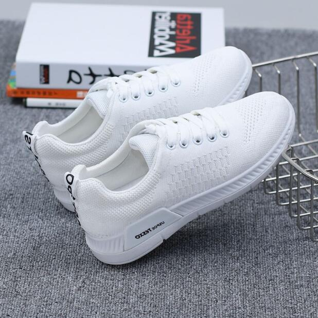 2018 New Autumn Breathable Mesh Women Casual Shoes Vulcanize Female Fashion Sneakers Lace Up Soft High Leisure Zapatos De Mujer 5