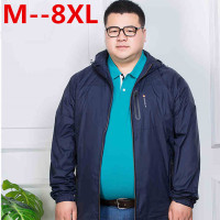 10XL 8XL 6XL 5XL 4XL 2017 New Spring Summer Mens Fashion Outerwear Windbreaker Men S Thin