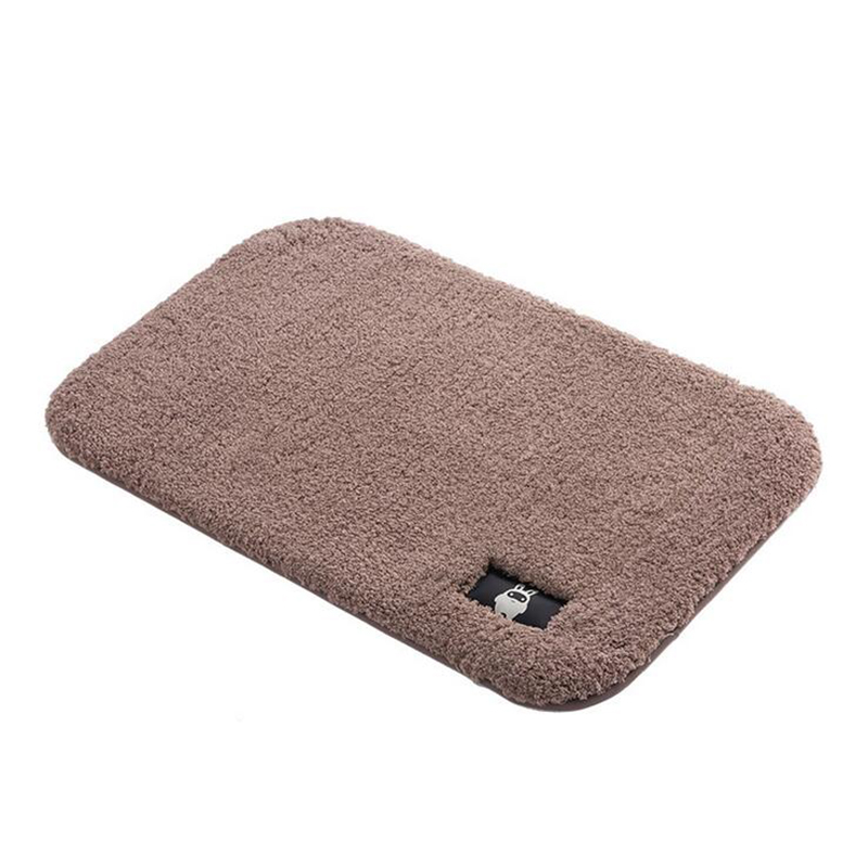 6Colors Solid Rugs Puple Carpet Thicker Bathroom Non slip Mat Area rug for living room Soft Child Bedroom Mat Vloerkleed in Rug from Home Garden