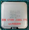Для Intel Core 2 Duo E7300 775-контактный ПРОЦЕССОР 2.66 Г Настольных ПК