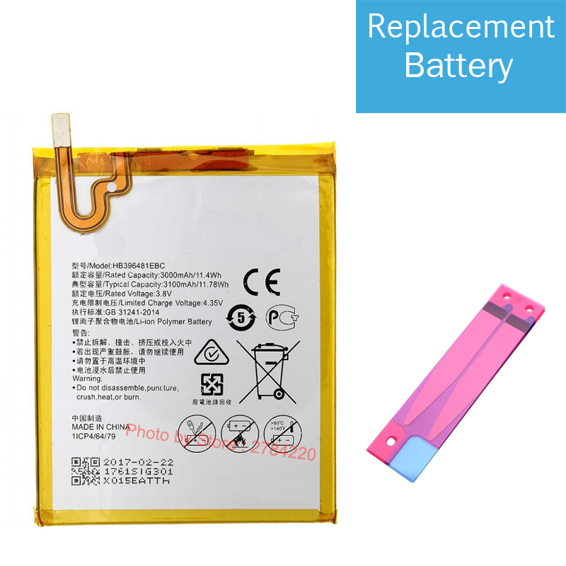 3100mah Replacemen Battery For Huawei Gr5 2016 Kii L21 Kii