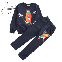 цена на Toddler Girl Clothes Spring Children Clothing Sets Kids Sport Suits Girls Clothes Sets Long Sleeve Tracksuits For Girls Costumes