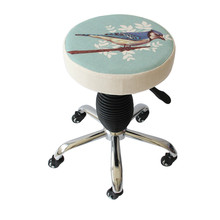 Multifunction Beauty Salon Stool Makeup/Manicure/Haircut Seat Slidable SPA Stool Lifted and Rotation Chair Without Backrest(China)