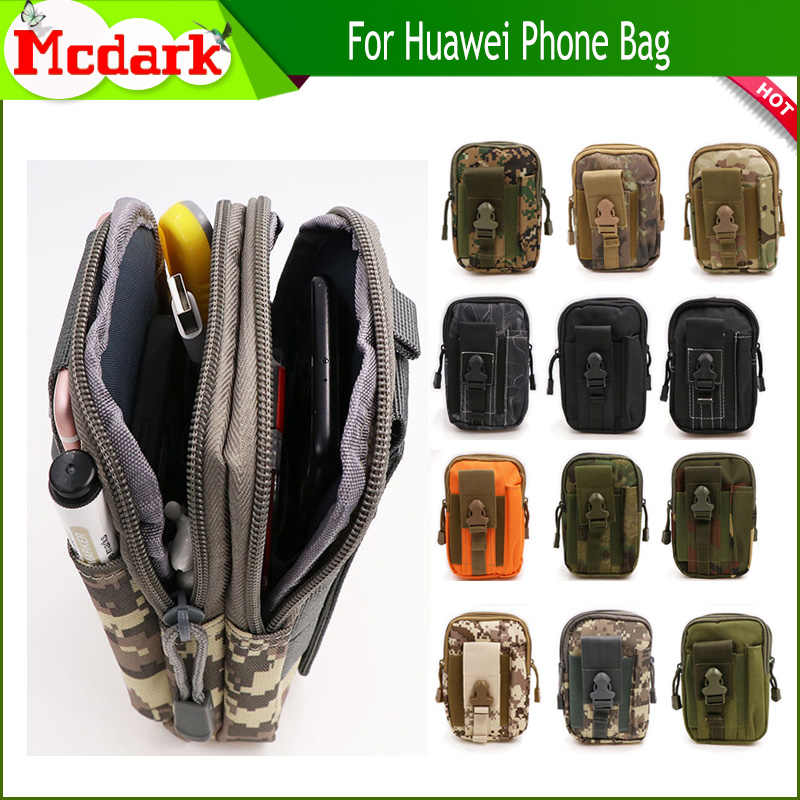 818ea0f58a55 Detail Feedback Questions about For Huawei Mate 10 Mate 9 Pro Honor 9 Lite  Y3 Y6 Y7 Universal Outdoor Tactical Holster Military Hip Waist Belt Bags  Phone ...
