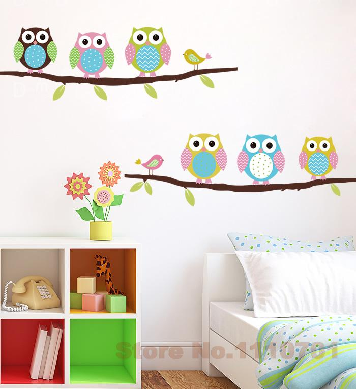 Decorative decals for walls