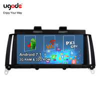 Ugode 8.8inch IPS Screen Android 7.1 Car Stereo PC GPS Navigation Multimedia Player for BMW X3 F25 X4 F26