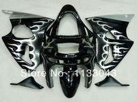 Fairings 100%New FLAME Body for KAWASAKI Ninja ZX 6R 98 99 ZX 6R 1998 1999 fairings ZX6R 98 99 ZX 6R 1998 1999 Fairing kits YT77