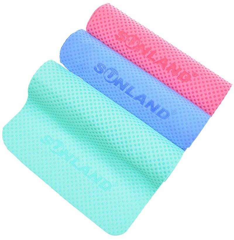 Sunland Vinyl Sports Kühltuch Workout Sweat Towel Kaltes Handtuch - Haustextilien - Foto 4