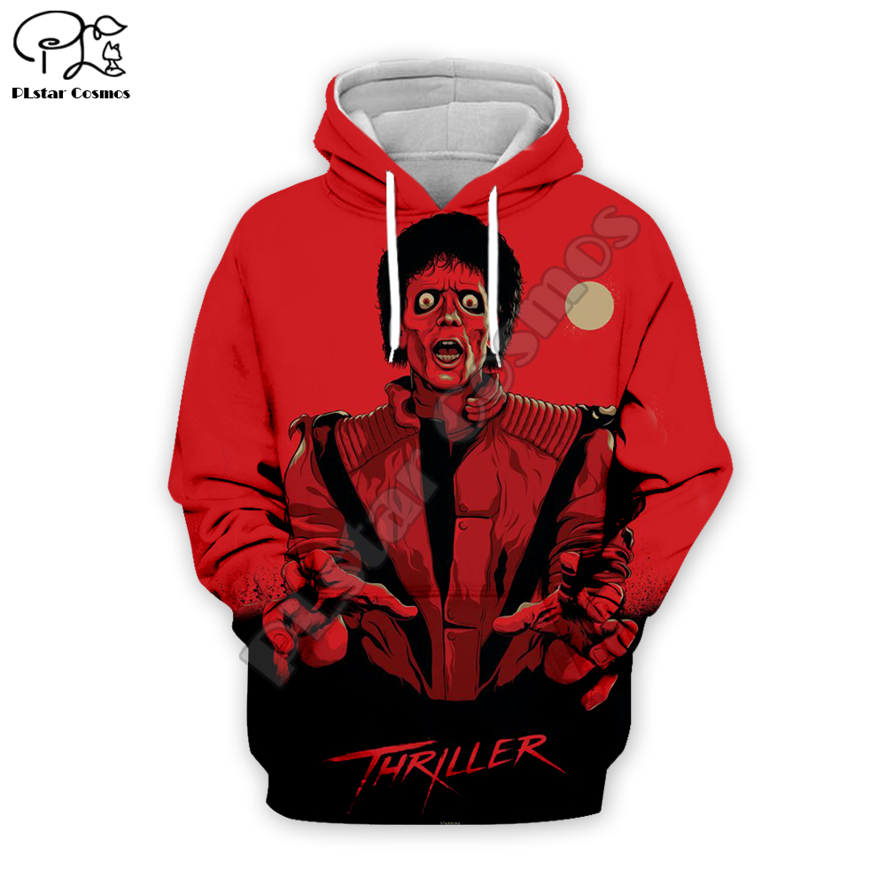 PLstar Cosmos Michael Jackson/Halloween horror 3D Printed Hoodie/Sweatshirt/Jacket/shirts Mens Womens hip hop apparel