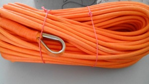 Image 3 - Treuil synthétique, corde à double tresse, UHMWPE, 12mm x 50 mètres