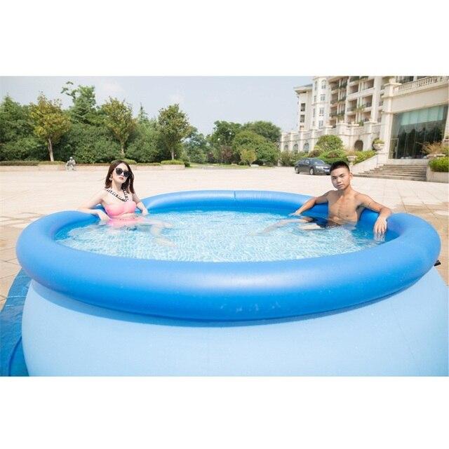 Большой открытый ребенок Лето обучения одежда заплыва для взрослых, надувной бассейн 305*76 гигантский семья сад бассейн играть дети B33002