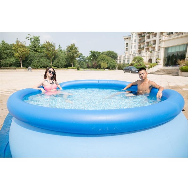 duży odkryty dziecko lato nauka pływanie dorosłych nadmuchiwany - Sporty wodne - Zdjęcie 1