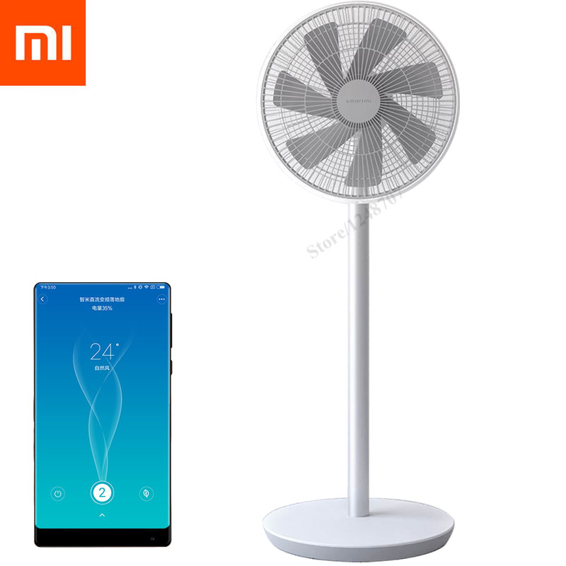 Battery Floor Fan : Original xiaomi remote stand fan mijia smart floor dc