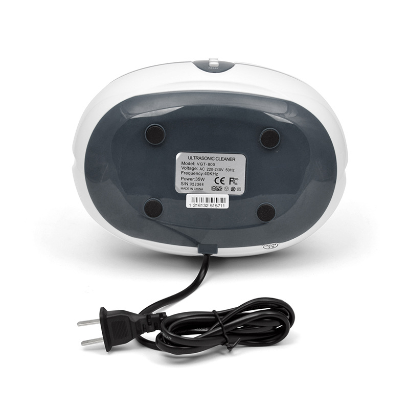 600ml Ultrasonic Cleaner 35W Jewelry Eyeglass Watch Circuit Board Cleaning  Machine Intelligent Control cleaning bath Z30