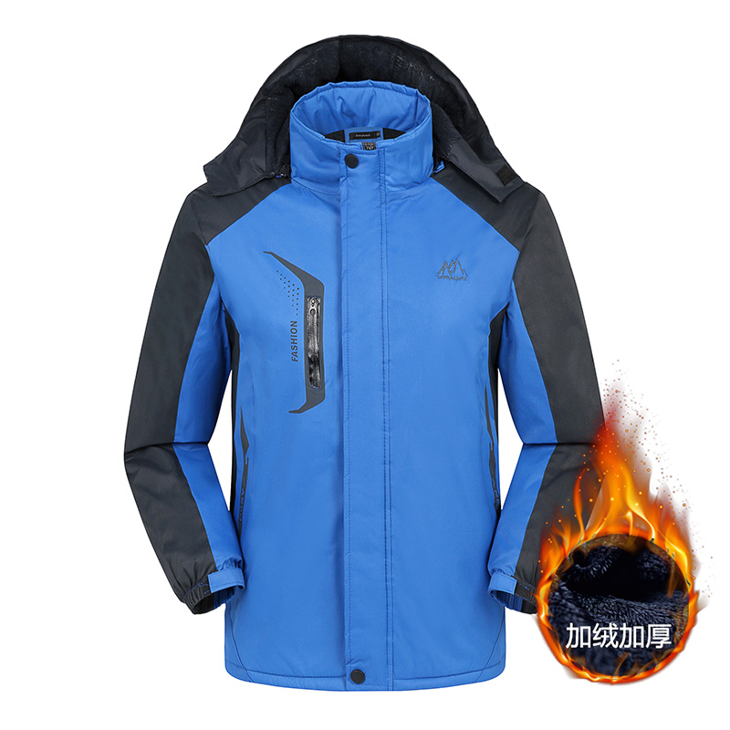 2018 Males's Winter Jackets Mens Thicken Patchwork Outwear Coats Male Hooded Parkas Thermal Heat Plus Size4XL Model Clothes Jackets, Low-cost Jackets, 2018 Males's Winter Jackets Mens Thicken Patchwork Outwear...