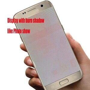 Image 4 - HotSale 5.5 yanık gölge samsung Lcd Galaxy S7 kenar Lcd ekran G935F G935FD Lcd ekran ücretsiz hediye ile S7Edge pil kapak