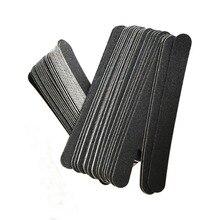 200pcs/500 pcs  sandpaper replacement pads 180 grit  nail professional file  removable pads disposable sandpaper