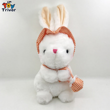 30cm Cute Rabbit Plush Toys Bunny Stuffed Animal Baby Toys Doll Baby Accompany Sleep Toy Kids Gifts Pendant Triver Drop Shipping free shipping original rio parrot plush toys 30cm blu