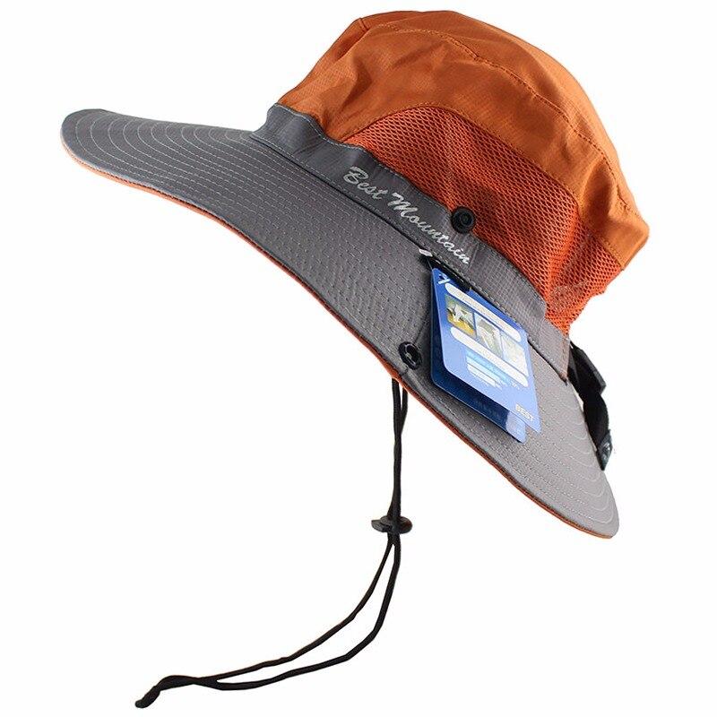 aead09b81bc2bb Waterproof UPF 50+ Sun Hat Bucket Summer Men Women Fishing Boonie Hat Sun  UV Protection