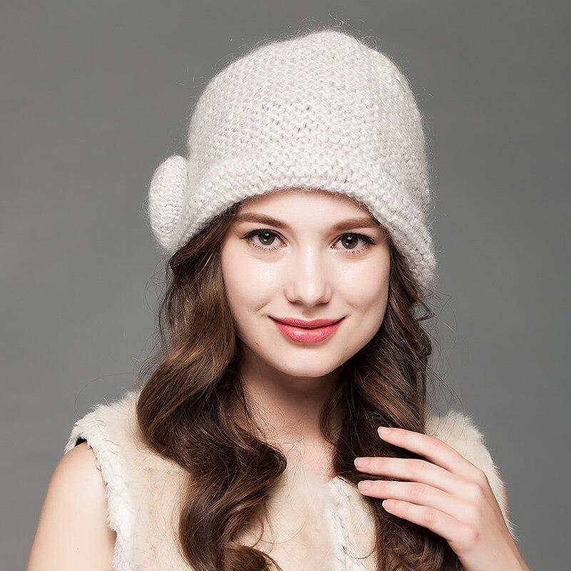 Charles Perra Women Hats Caps 2019 NEW Ձմեռ տրիկոտաժե - Հագուստի պարագաներ - Լուսանկար 5