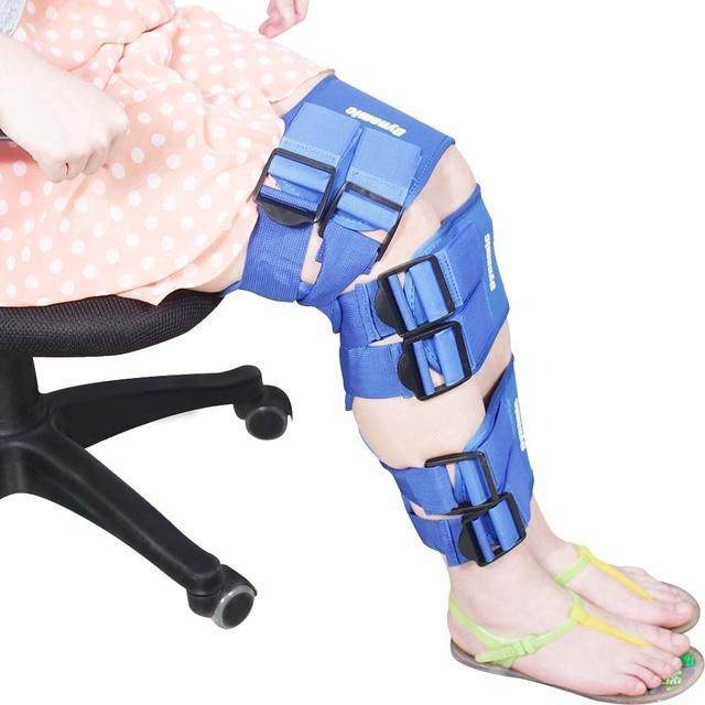 3 UNIDS Ajustable O/X Pierna Cinta Corrector de Postura Ortesis Soportes para O/X Tipo Pierna Corrector Física terapia para La Pierna cinturón de Masaje