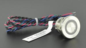 Image 3 - High operation time IP68 316L interruptor de empuje piezoeléctrico de 3 colores RGB impermeable de acero inoxidable (22mm,PS223P10YSS1RGB24T,Rohs,CE)