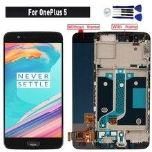 Для OnePlus 5 дисплей ЖК сенсорный экран сборка Замена для OnePlus 5 A5000 ЖК-дисплей экран модуль