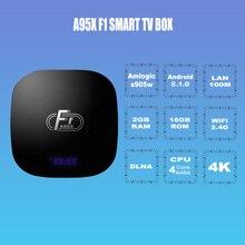Mini TV BOX A95X F1 Android 8.0 Smart TV