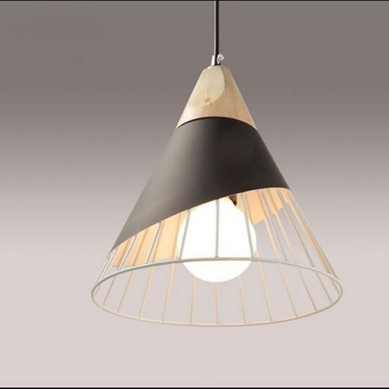 Nordic living room bar pendant lamp bedside bedroom restaurant creative personality simple single head pendant light CL FG893