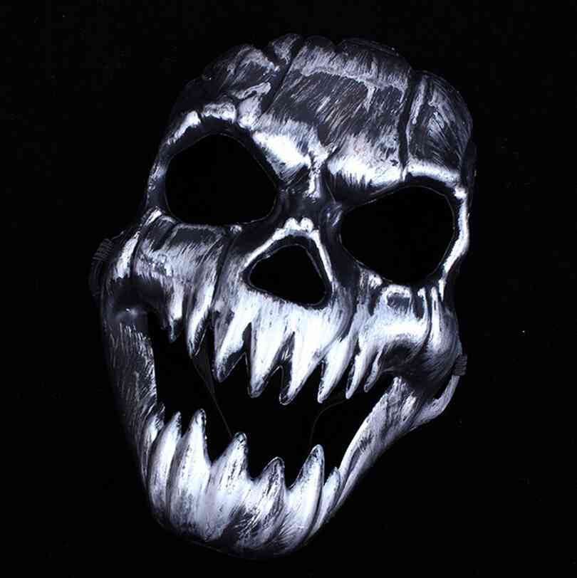 New Party Mask Scary Ghost Skeleton Skull Head Masks for Halloween ...