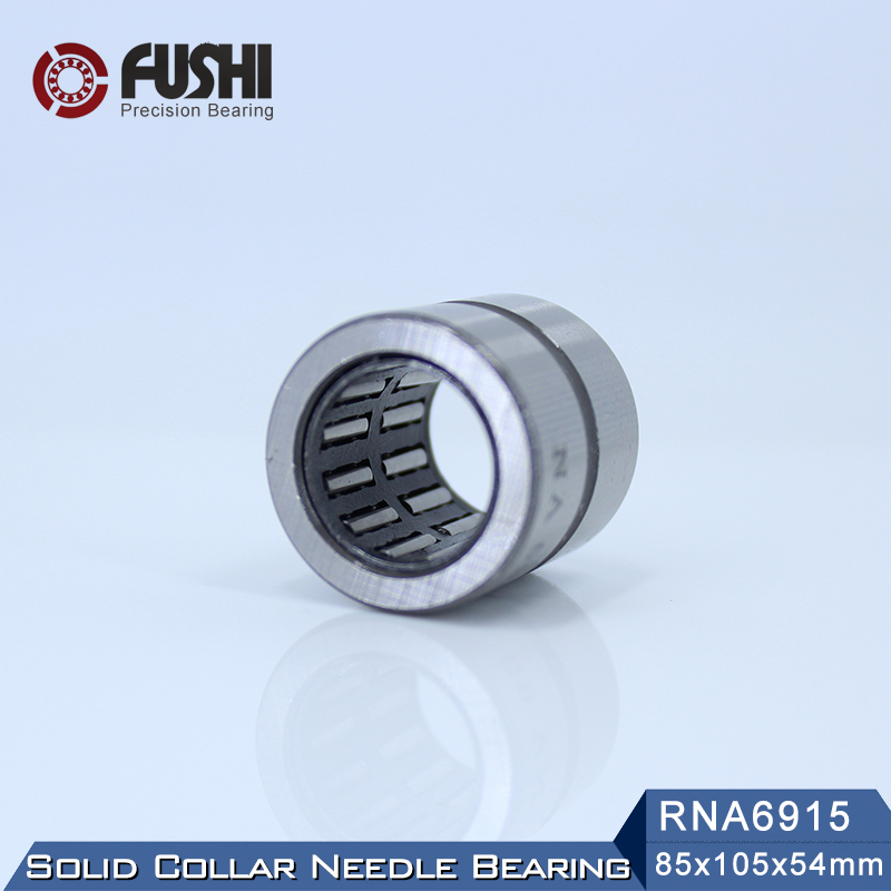 RNA6915 Bearing 85*105*54 mm ( 1 PC ) Solid Collar Needle Roller Bearings Without Inner Ring 6634915 6354915/A Bearing sce2020 bearing 31 75 38 1 31 75 mm 1 pc drawn cup needle roller bearings b2020 ba2020z sce 2020 bearing