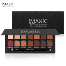IMAGIC 2017 New 14 Color Matte Nude Eye Shadow Pallete Cosmetics Waterproof Mineral Powder Pigments Eyeshadow Palette