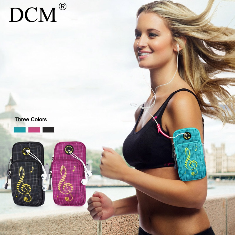 Universal Sports Arm Band Case for iPhone X 8 8 Plus 7 6S Multi-functional Running Fitness Arm Band for Samsung S8 S8 Plus Note8