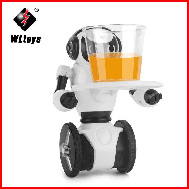 WLtoys F4 WIFI Camera Intelligent Balance RC Robot APP Control Toys for Children Kids Christmas Gift Present VS JJRC R1 R2 R3