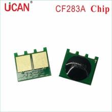 10pcs Toner Cartridge Chip for HP CF283A   M125 M126 M127 M128 M201 M202 M225 Laser MFP Printer  Toner Cartridges